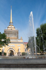 Admiralty, St Petersburg, Russia