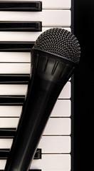 Keyboard and Microphone.