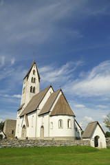 Gothem Church in Gotland