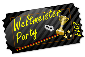Weltmeister Party