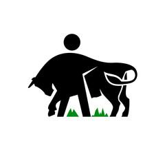 Livestock vector sign