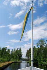Reise auf dem blaue Band Schwedens