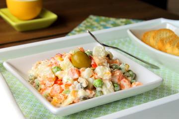 Russian Olivier Salad