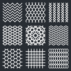 Vector geometric textures