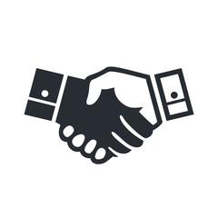 Deal handshake sign