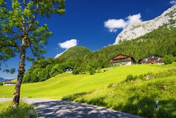 Berg und Landhaus