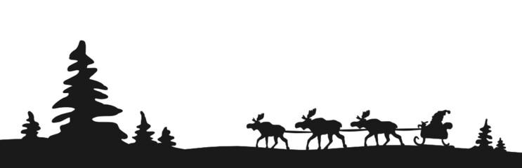 Weihnachten Elche
