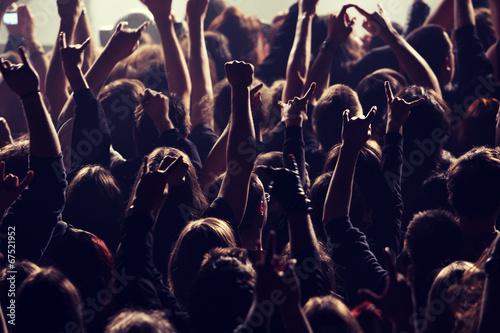 Rocking crowd - 67521952
