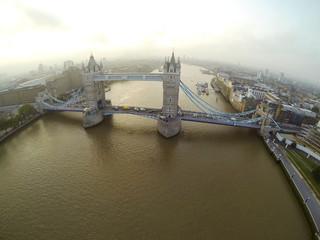 Above London Bridge