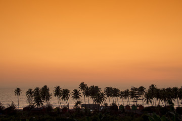 Sunset in Goa