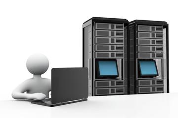 Server network concept