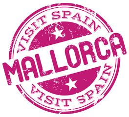visit mallorca stamp