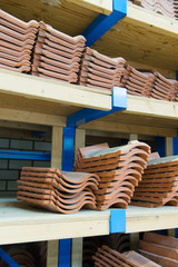 assortment roof tiles
