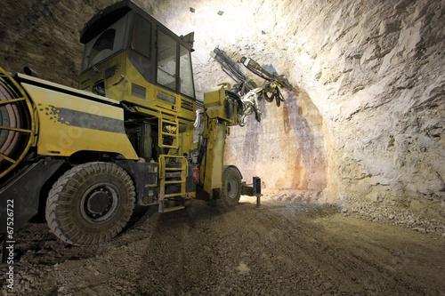 Mine work