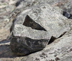Splitted stone