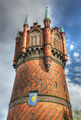 Water tower of Rostock - HDR image