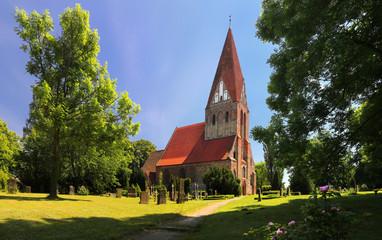 Parkentin parish church (Mecklenburg-Vorpommern, Germany)