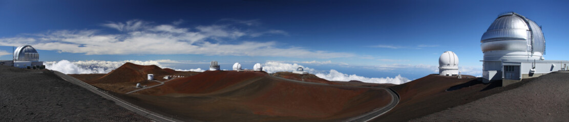 Observatories at Mauna Kea (MKO) - Big Island, Hawaii