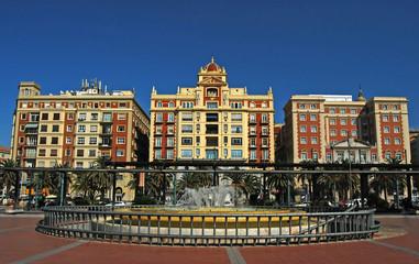 Málaga, Plaza de la Marina