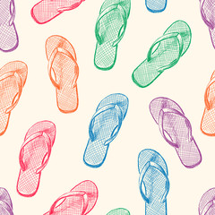 beach slippers pattern