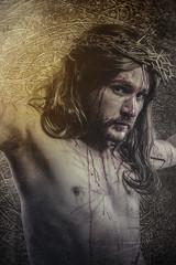 jesus christ, representation of Calvary, passion