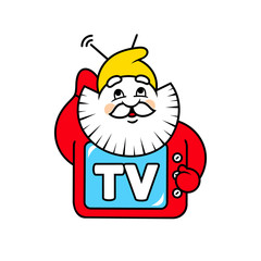 Dwarf TV sign