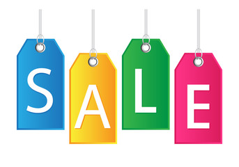Sale hanging