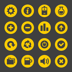 Universal Simple Web Icons Set 2