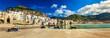 Leinwandbild Motiv Panorama of Cefalu