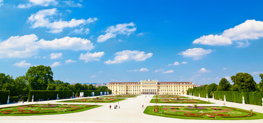 majestic Schonbrunn palace