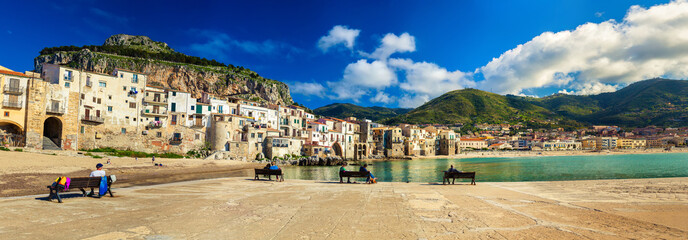 Panorama of Cefalu