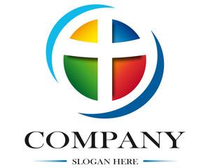 Project logo religion colored