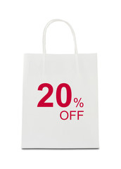 The word 20% off