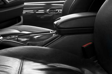 Auto interior detail.