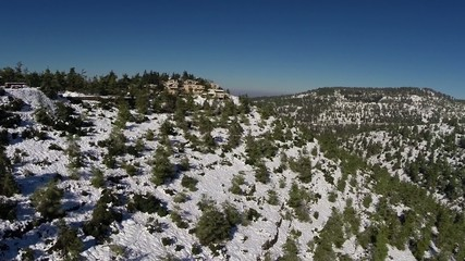Jerusalem Snowy Mountains