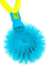 a dishwashing brush