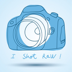 Camera Icon - vector illustration