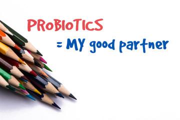 Probiotics Concept