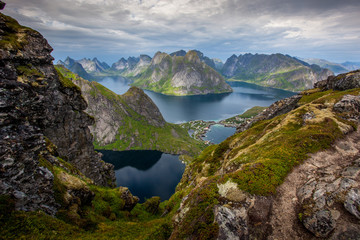 Beautiful Norwegian landscape - fjords