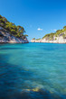 canvas print picture - Famous calanque of Port Pin