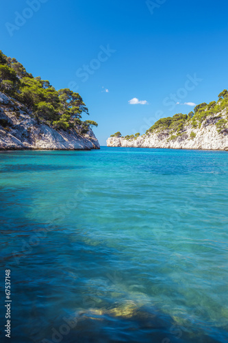 canvas print picture Famous calanque of Port Pin