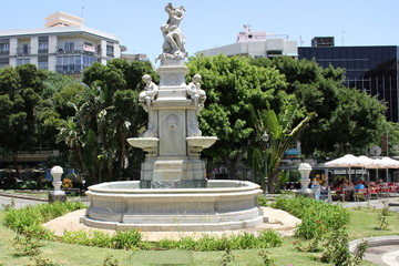 Brunnen in Santa Cruz de Tenerife