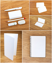 the white elements of corporate identity