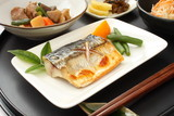鯖の塩焼き 定食