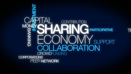 Sharing economy collaboration peer-to-peer mesh consumption