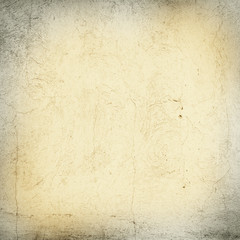 Grunge yellow concrete wall background
