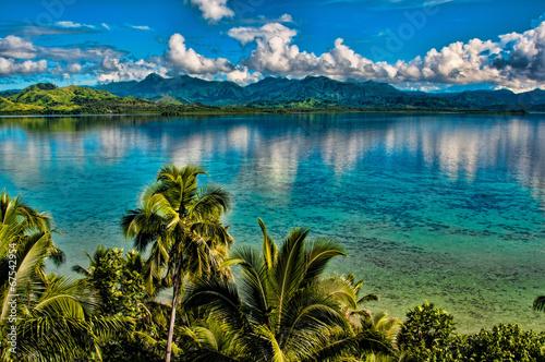 Staande foto Kust Fiji Fantasy