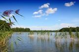Mazury lakeland district in Poland