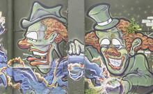 Klaunów grafitti