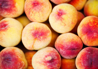 Peach close up.